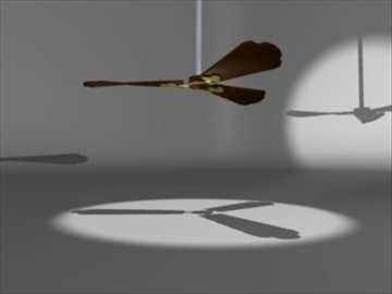 ceiling fan 3d model 3ds dxf lwo 81081