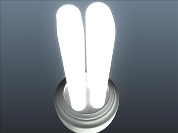 cfl light set 001 3d model 3ds max ma mb obj 102294