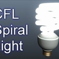 CFL Spiral Light 001 ( 49.87KB jpg by Asephei )