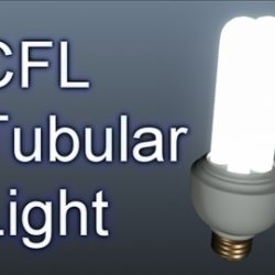 CFL Tubular Light 001 ( 46.99KB jpg by Asephei )