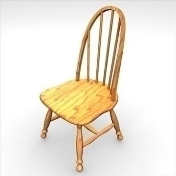 chair 3d model 3ds dxf fbx c4d obj 85440
