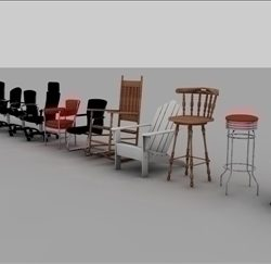 Chair Assortment ( 33.03KB jpg by matttrout )