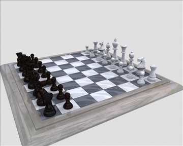 chess 3d model ma mb obj 82787