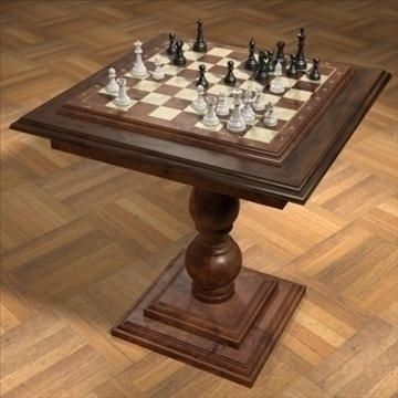 chess_exclusive 3d model 3ds max 92930