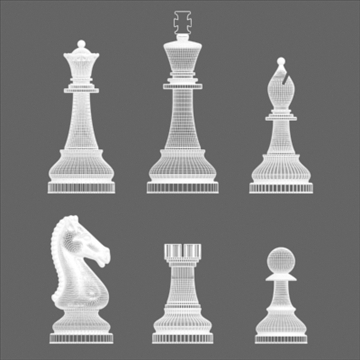 chess_exclusive 3d model 3ds max 92934