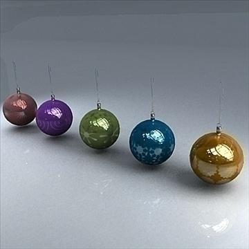 christmas orbs 3d model max 101702