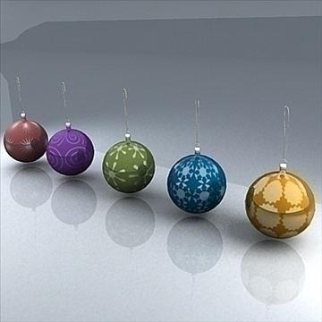 christmas orbs 3d model max 101703