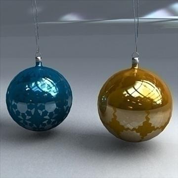 christmas orbs 3d model max 101704