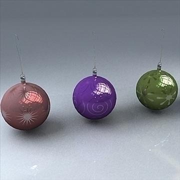 christmas orbs 3d model max 101705