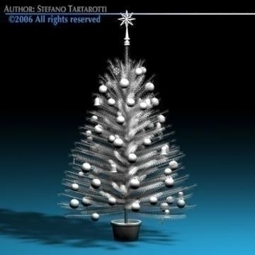 christmas tree 3d model 3ds c4d obj 77735