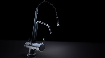 chrome faucet 3d model 3d d f 'as 85004 eile
