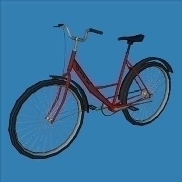 city bike 3d model 3ds 97606