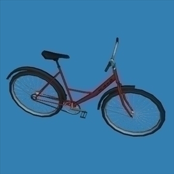 city bike 3d model 3ds 97607