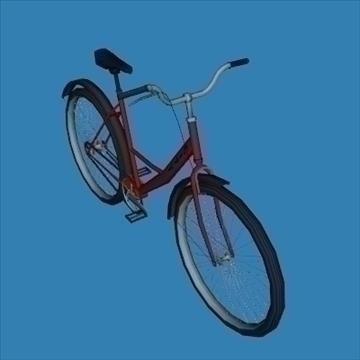 city bike 3d model 3ds 97608