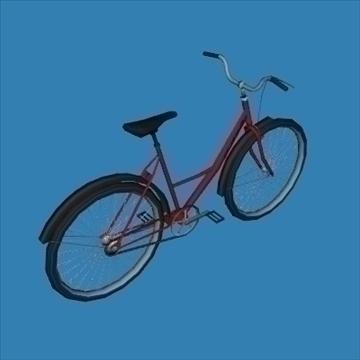 city bike 3d model 3ds 97609