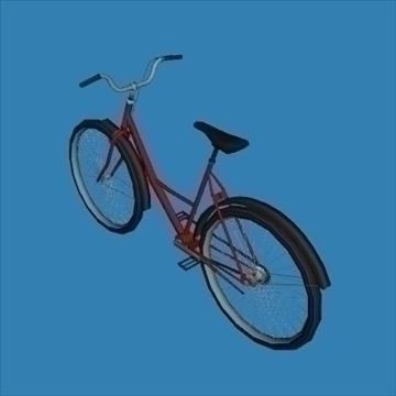 city bike 3d model 3ds 97610
