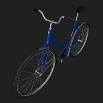 classic bicycle 3d model 3ds 97359