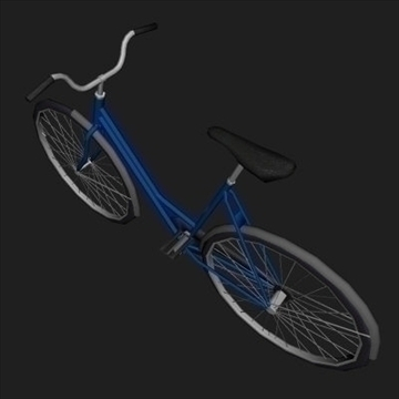 classic bicycle 3d model 3ds 97360
