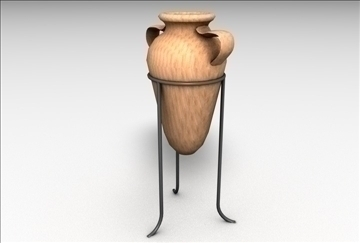 pot vas 3d model 3ds c4d tekstur 86860