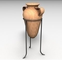 Clay Vase ( 33.44KB jpg by matttrout )