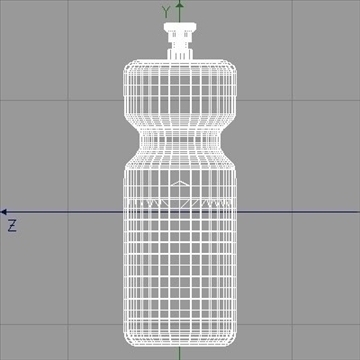clear plastic sport bottle.zip 3d model 3ds dxf fbx c4d obj 82666