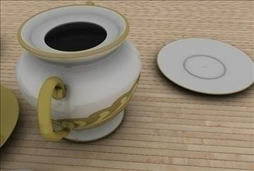 coffee scene 3d model 3ds c4d texture 86887