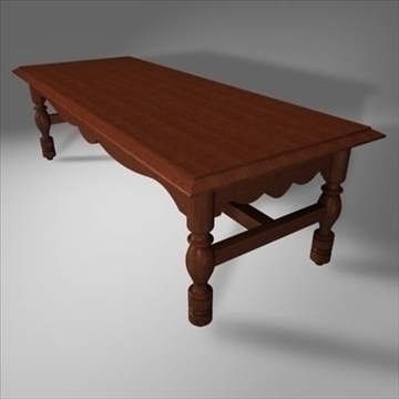 coffee table.zip 3d model 3ds dxf fbx c4d obj 85393