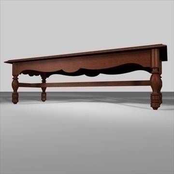 coffee table.zip 3d model 3ds dxf fbx c4d obj 85394