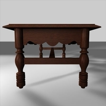 coffee table.zip 3d model 3ds dxf fbx c4d obj 85396