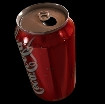 coke can 3d model 3ds 106518