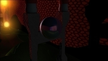 colorful reflective balls 3d model ma mb 106537