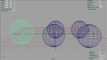 colorful reflective balls 3d model ma mb 106538