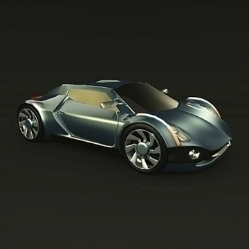 conceptor x concept car 3d model 3ds fbx blend obj 106707