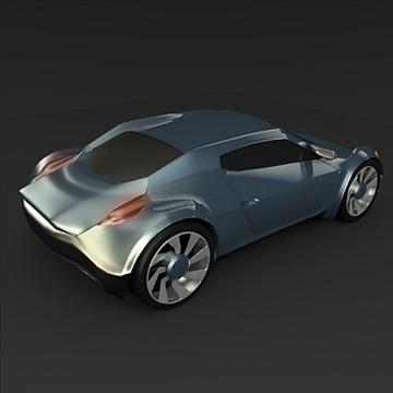 conceptor x concept car 3d model 3ds fbx blend obj 106708