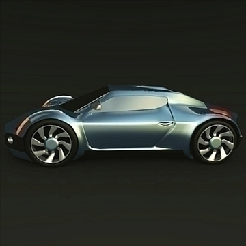 conceptor x concept car 3d model 3ds fbx blend obj 106709