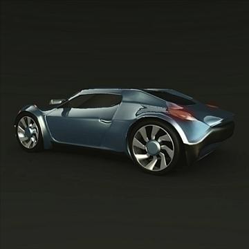 conceptor x concept car 3d model 3ds fbx blend obj 106710