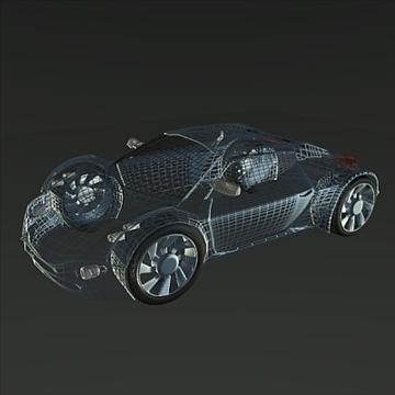 conceptor x concept car 3d model 3ds fbx blend obj 106711