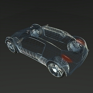 conceptor x concept car 3d model 3ds fbx blend obj 106712