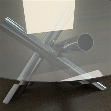 contemporary table from minotti collection 3d model 3ds max texture obj 110770