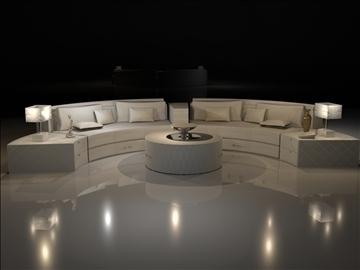 stūra dīvāns 3d modelis max 99050