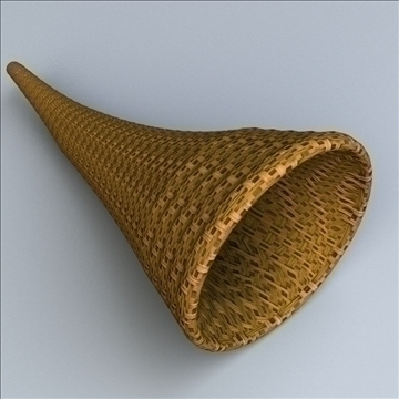 cornucopia horn of plenty 3d model 3ds max lwo hrc xsi obj 111005