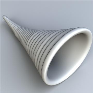 cornucopia horn of plenty 3d model 3ds max lwo hrc xsi obj 111007