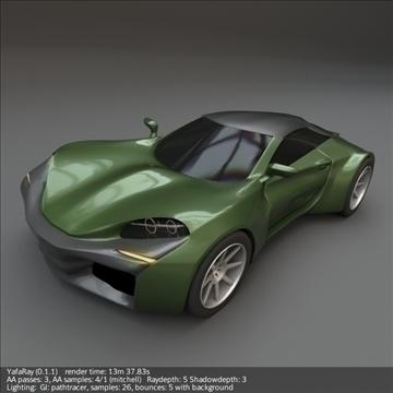 coupsterr concept car 3d model 3ds fbx blend lwo obj 107990