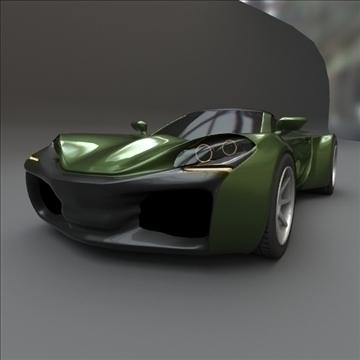 coupsterr concept car 3d model 3ds fbx blend lwo obj 107994