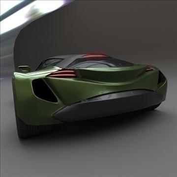 coupsterr concept car 3d model 3ds fbx blend lwo obj 107995