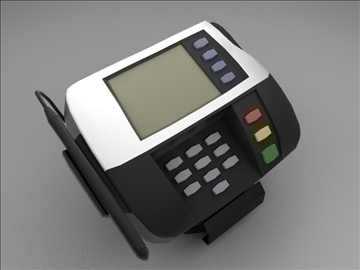 credit card reader 3d model max 102678