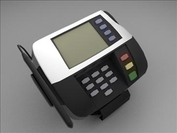 kredit kartı oxucu 3d model max 102678