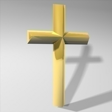 cross.zip 3d model 3ds dxf fbx c4d obj 83695