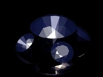 cut diamond kr 57 (round 57 faces) 3d model dwg 108169