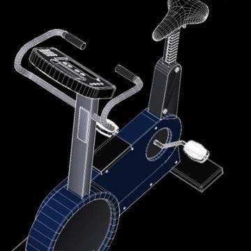 d320 – bike 3d model 3ds lwo 78934